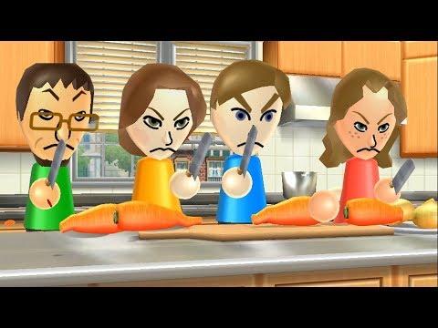 Wii Party Minigames - Player Vs Kathrin Vs Daisuke Vs Elisa