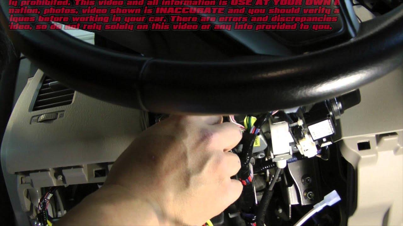 Mada Cx9 Compustar Remote Start Installation Uncut Ue At Your Own Car Starter For Mazda 5 Risk