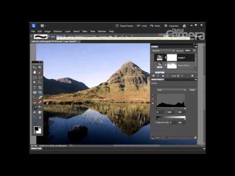 Jak poprawić odbicie krajobrazu w lustrze wody [tutorial Photoshop]