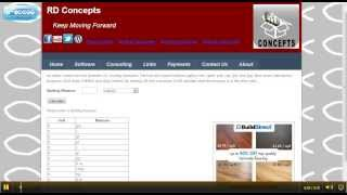 Online Cooking Measures Conversion Tool Demo