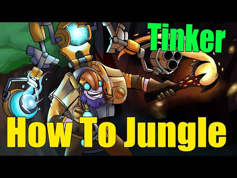 DoTa 2 How To Jungle Tinker Patch 7.23