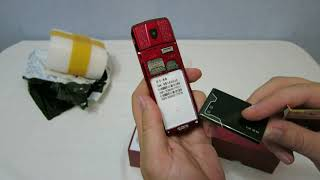 Распаковка и обзор телефона Vertu Mafam A8 / review of phone Vertu Mafam A8