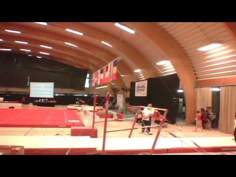 gymnovacup 2016 youngsters uneven bars