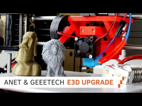 Upgrade your Anet A8/GEEEtech 3D Printer with an E3D Hotend!