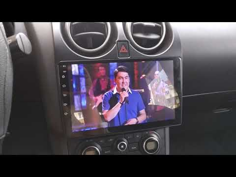 Nissan Qashqai Android автомагнитола