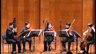 "Ensemble Les Amis- Shanghai XU SHU YA ""In Nomine II"" 2006 for Sheng and String Quartet"