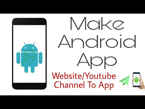 How to Make a Free Android App Without Coding | App Development | App Builder
