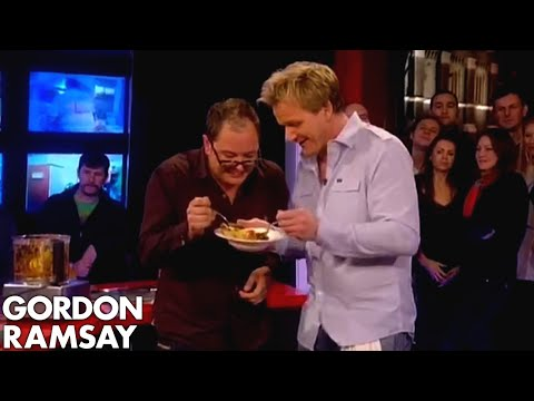 Eating the hottest curry in UK - Gordon Ramsay