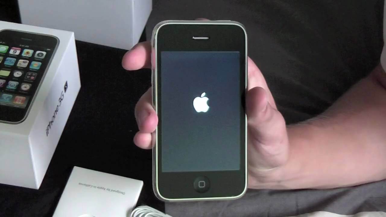iPhone 3GS 32GB White Unboxing & Demo (HD) - YouTube