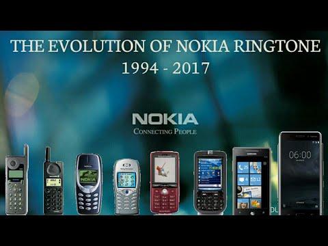 Evolution of Nokia ringtone:1994-2017 (updated new)