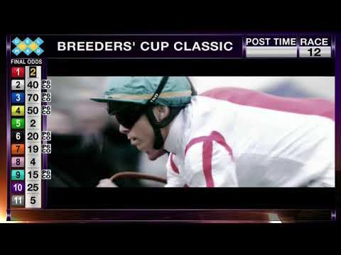 Gun Runner Wins Breeders' Cup Classic Grade I Race 12 at Del Mar 11/04/17