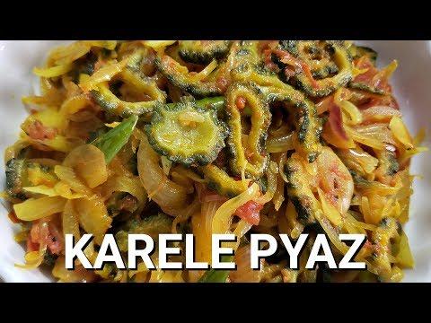 Karele Ki Sabzi Recipe - Karela Pyaz By Rakhshanda