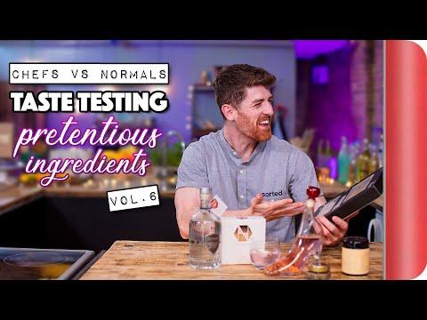 Chefs Vs Normals Taste Testing Pretentious Ingredients | Vol. 6
