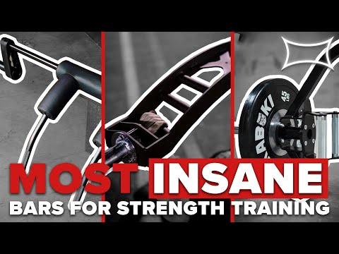 Most INSANE Bars For Strength Training | Ft. Chris Duffin