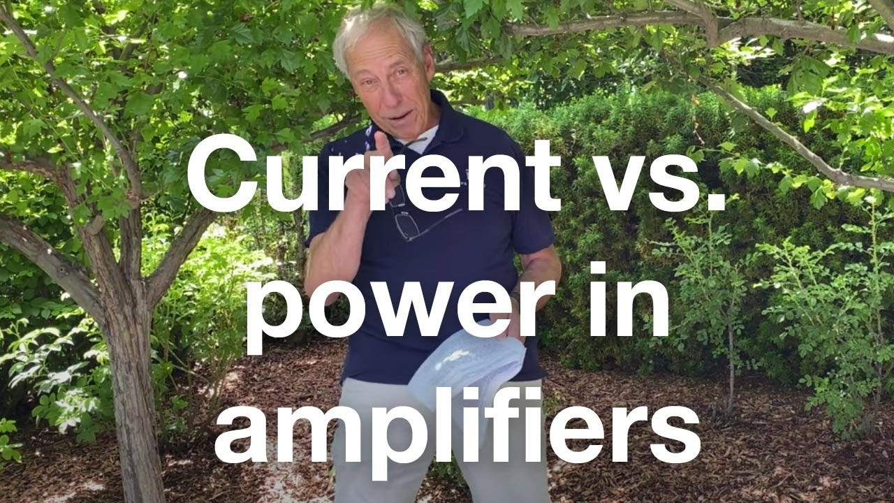 Current vs. power in an amp
