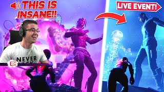 Nick Eh 30 reacts to Travis Scott CONCERT in Fortnite!