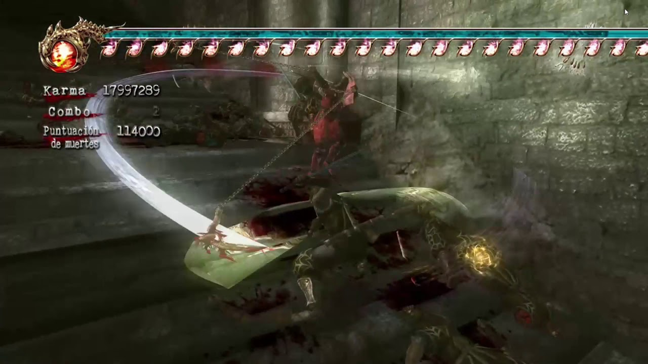 Ninja Gaiden 2 Xbox 360 Cheats Pasillo Cap 10 Kasuri Gama Youtube