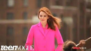 Emma Stone in Teen Vogue