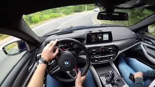 BMW M5 F90 - POV GoPro