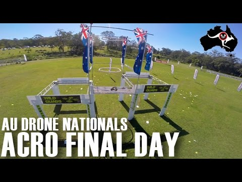 Australian Drone Nationals Acro Final Day