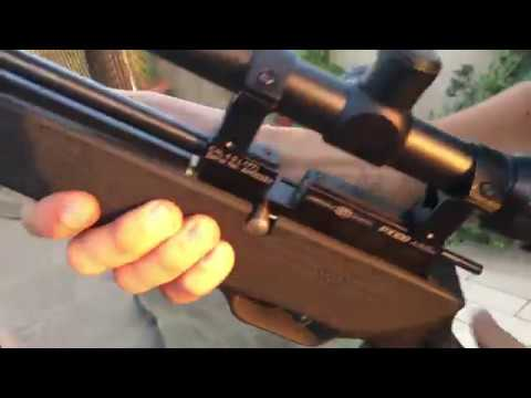 Precihole Px100 Achilles PCP Air rifle Unboxing, review and SHOOTING TEST!