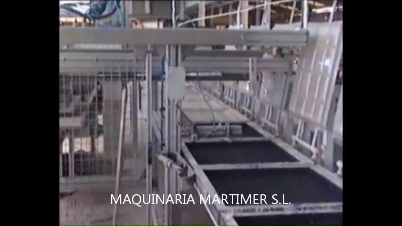 Maquina fabricar placas de cielo raso de escayola o yeso - Placas de escayola para techos ...