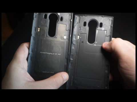 new product a4a50 1e27e LG V10 QI Wireless charging back