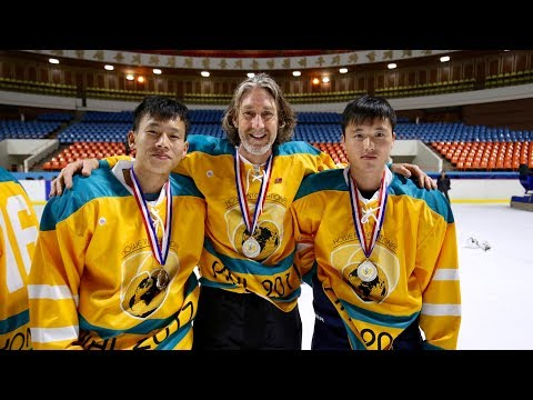 Pyongyang Ice Hockey League (PIHL) 2018 - Your chance to play hockey in North Korea!