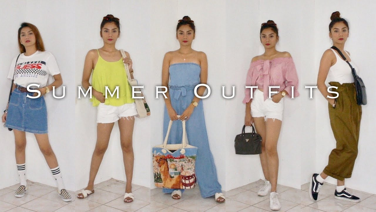 [VIDEO] - SUMMER OUTFIT IDEAS | Philippines 2