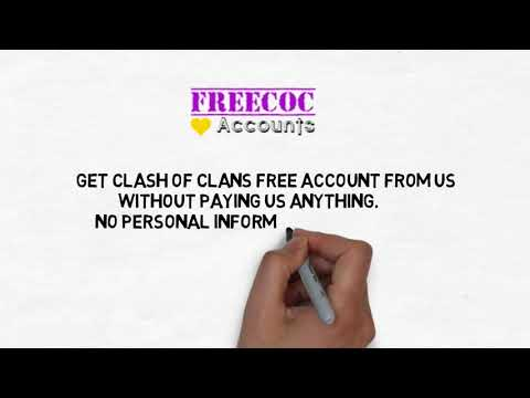 Free Clash Of Clans Account | Clash Of Clans Free Accounts