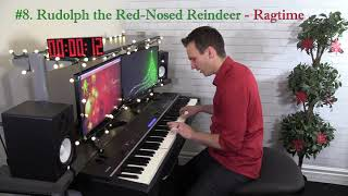 Download 8 Christmas Songs in 8 Piano Styles in 1 Minute! MP3 song and Music Video