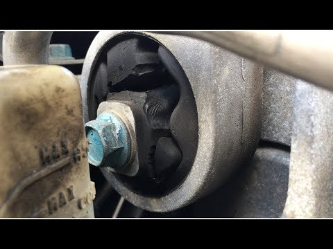 Front Torque Strut Engine Support Mount Replacement 2007-2012 Nissan Altima How To DIY