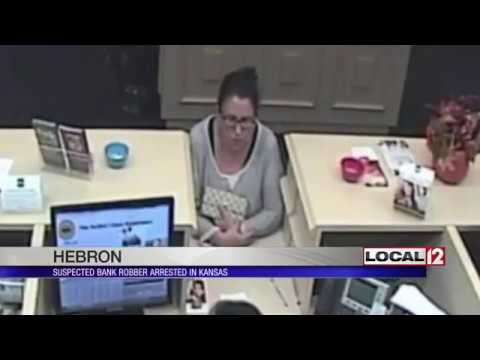 Hebron bank robbery suspect arrested in Kansas in a stolen truck