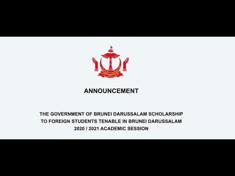 How to Apply The government of Brunei Darussalam Scholarship