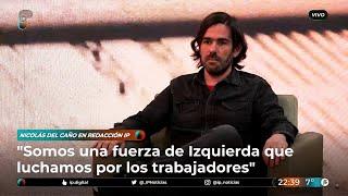 """Del Caño: """"Somos la alternativa para quien se decepcionó con el Gobierno y rechaza a la derecha"""""""