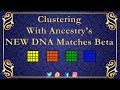 - How to Cluster your DNA matches With Ancestry