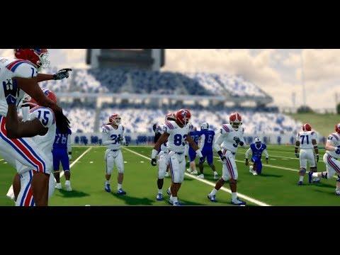 NCAA Football 14 Baltimore State Dynasty Year 2 - Conference Championship vs Louisiana Tech