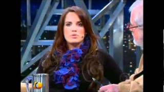 Gambar cover Carol Martin no programa do Jô - parte 01