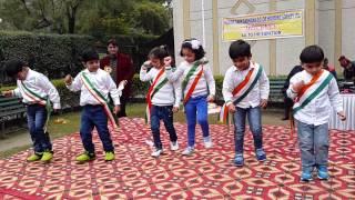 Patriotic dance performance by kids