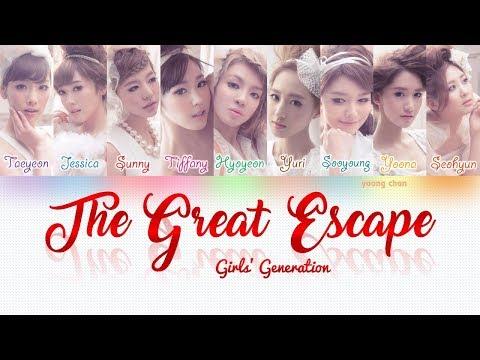Girls' Generation (少女時代) – THE GREAT ESCAPE Lyrics