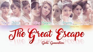 Girls' Generation (少女時代) ? THE GREAT ESCAPE Lyrics