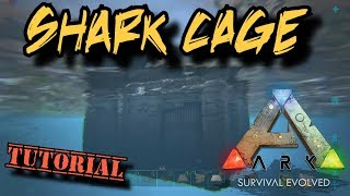 Shark Cage Tutorial - Ark Survival Evolved