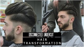My Disconnected Undercut 2017 | Hair Transformation | Actual Haircut Footage
