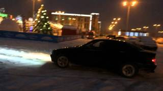 BMW e36 snow Drift 328i