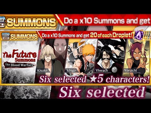Bleach Brave Souls: Summons The Future + Droplets! Ainda da tempo? Omega Play