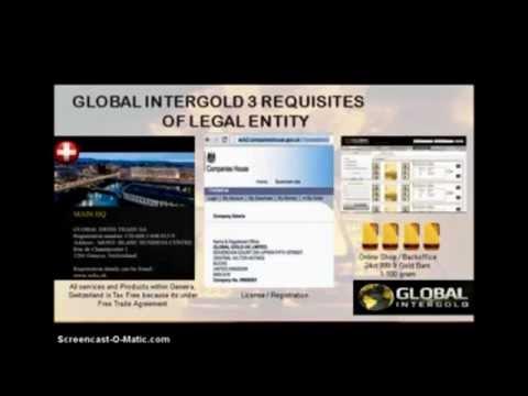 LATEST June 2015 Global iGold Video Presentation