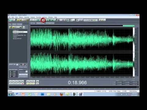 Hướng dẫn cắt ghép nhạc bằng Adobe Audition 1.5
