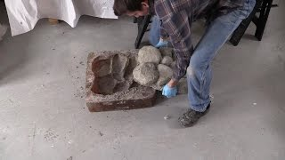 How to Make Concrete Rocks for Rock Walls, Fire Pits, Walk Ways, Water Fountains