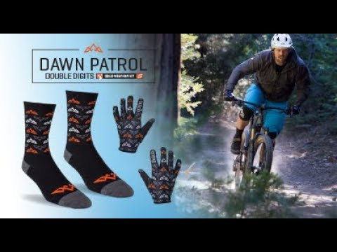 Cool Weather Mountain Bike Gloves and Socks Kit from TASCO - Dawn Patrol