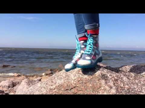 Резиновые ботинки Invisible-shoes